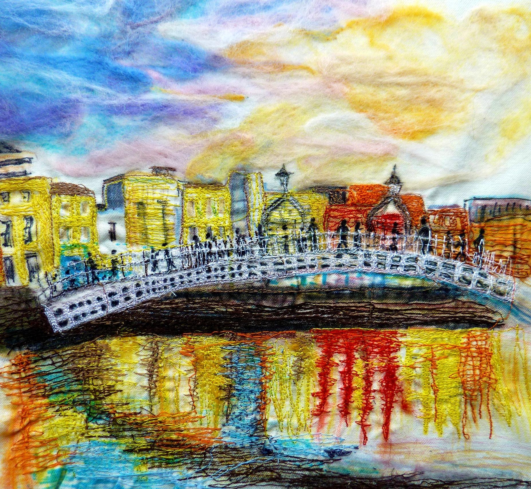 'Ha'Penny Bridge, Dublin'
