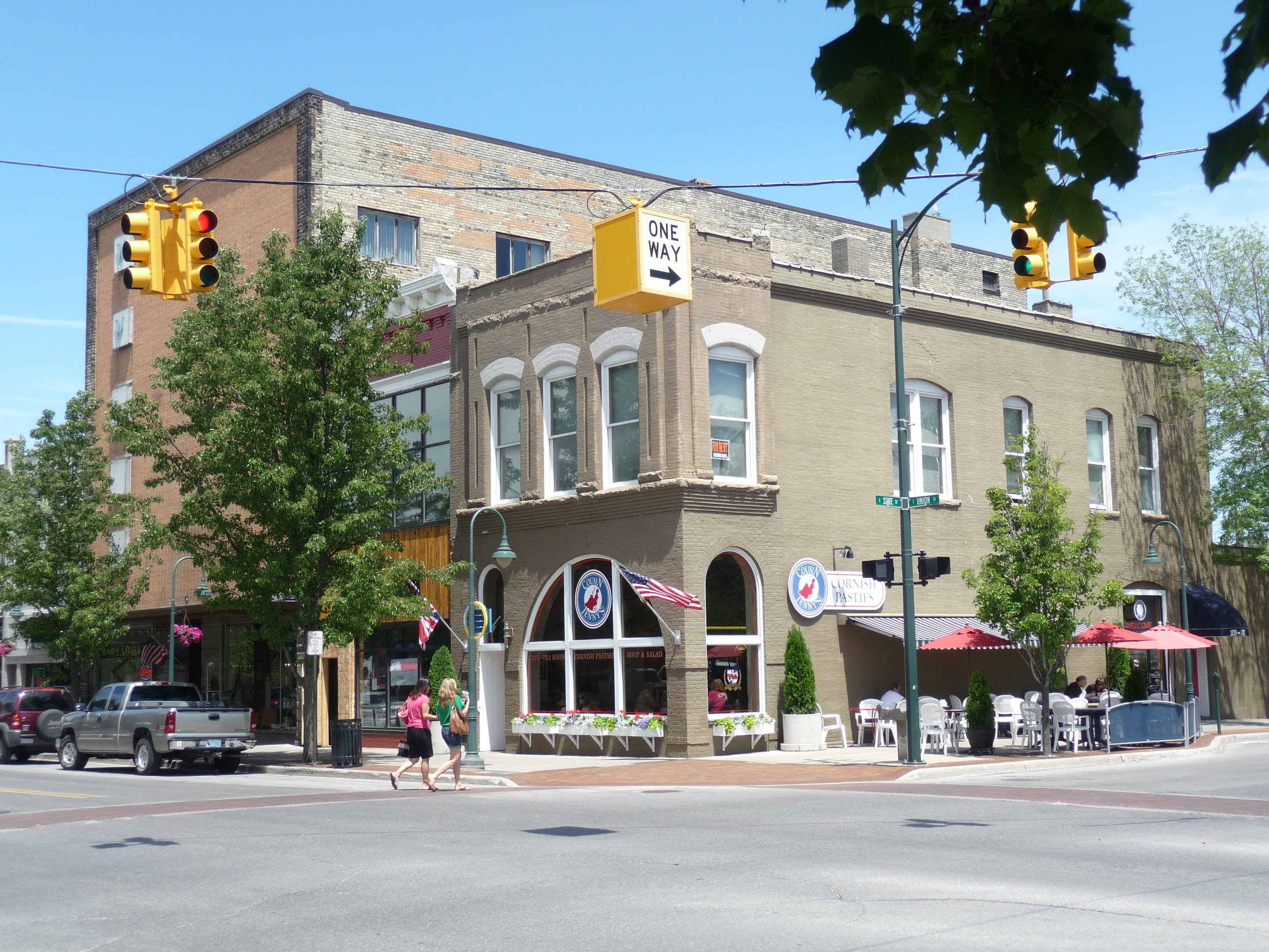 Cousin Jenny's located in the heart of Downtown Traverse City