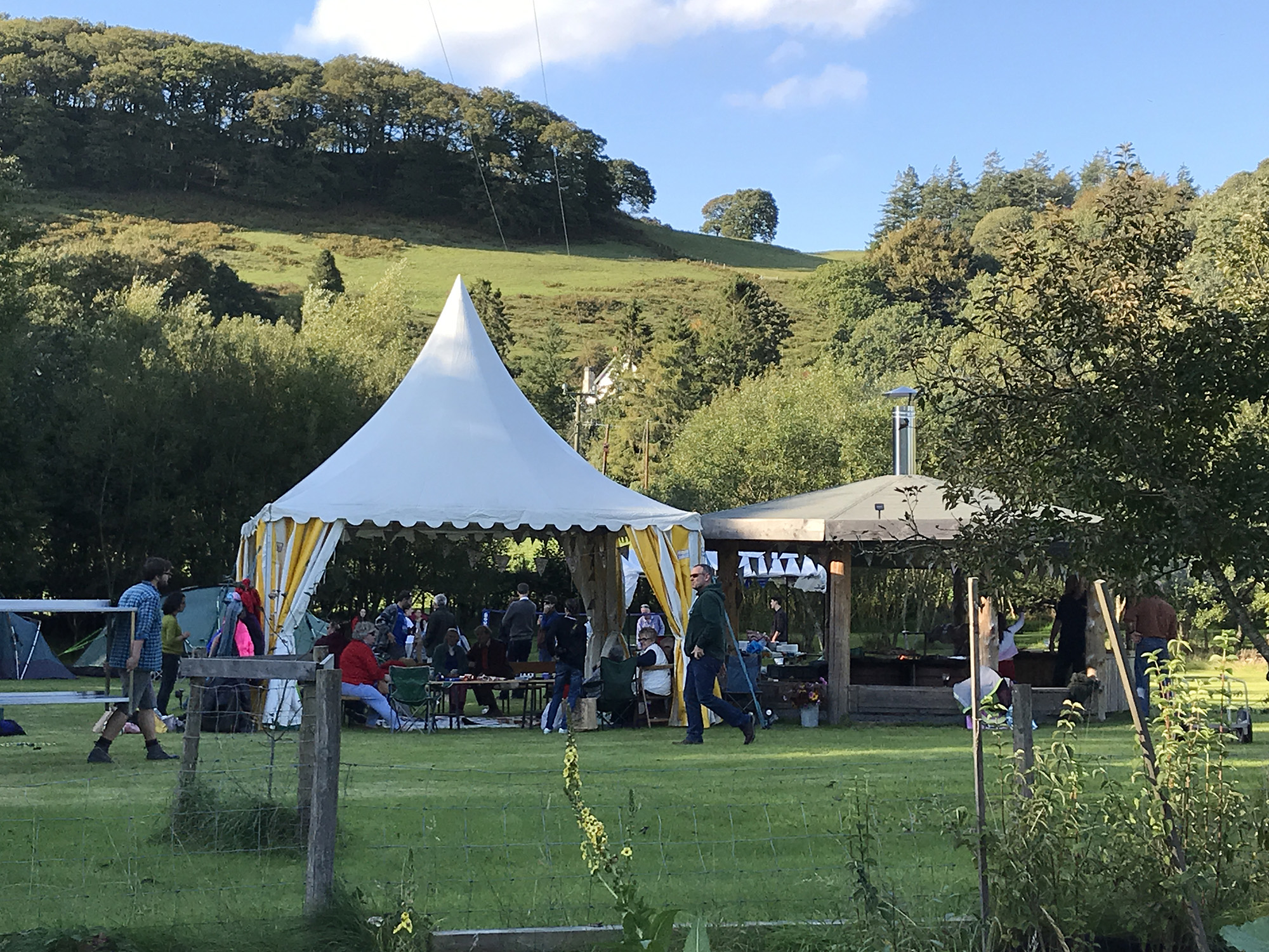 Event hire of the camping field