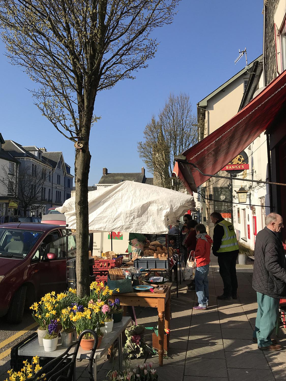 Machynlleth market