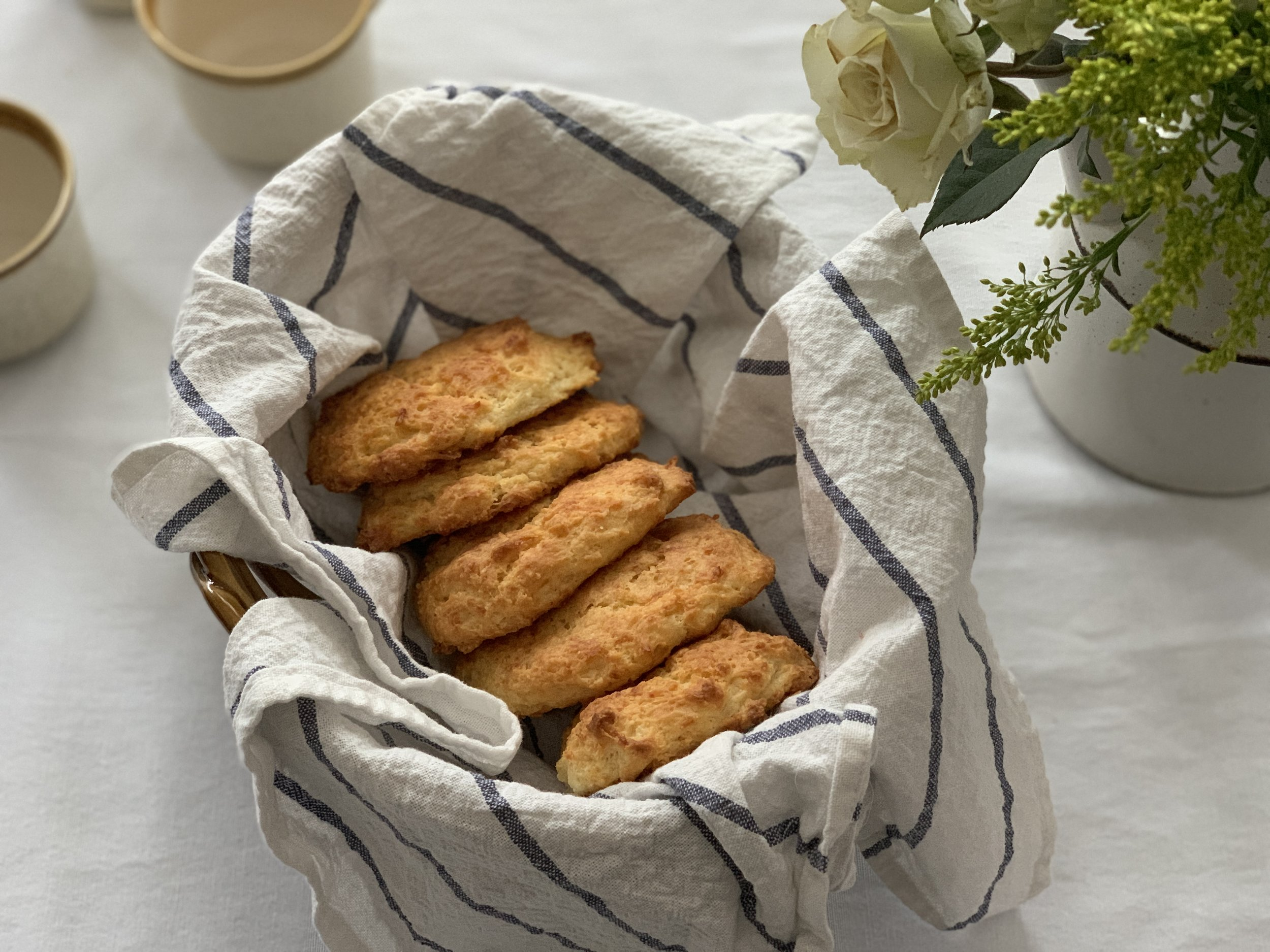The Lore No-Mess Flaky Buttermilk Drop Biscuits
