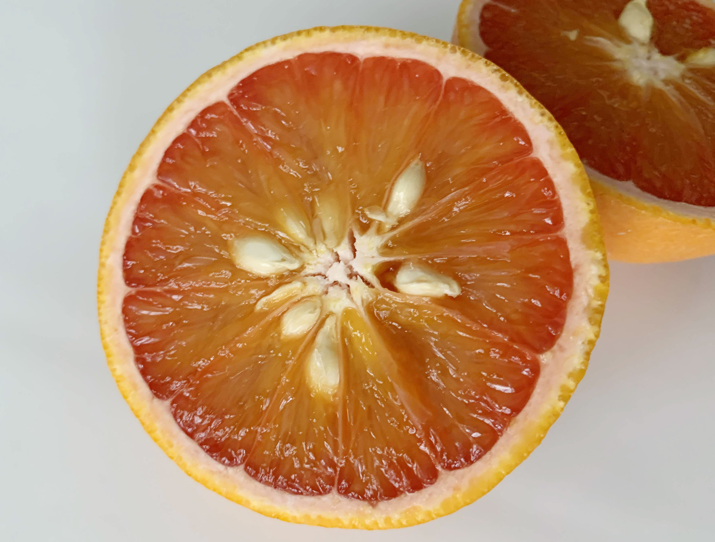 Orange Varieties - The oranges here are called Mango oranges. They are sweet and slightly floral.