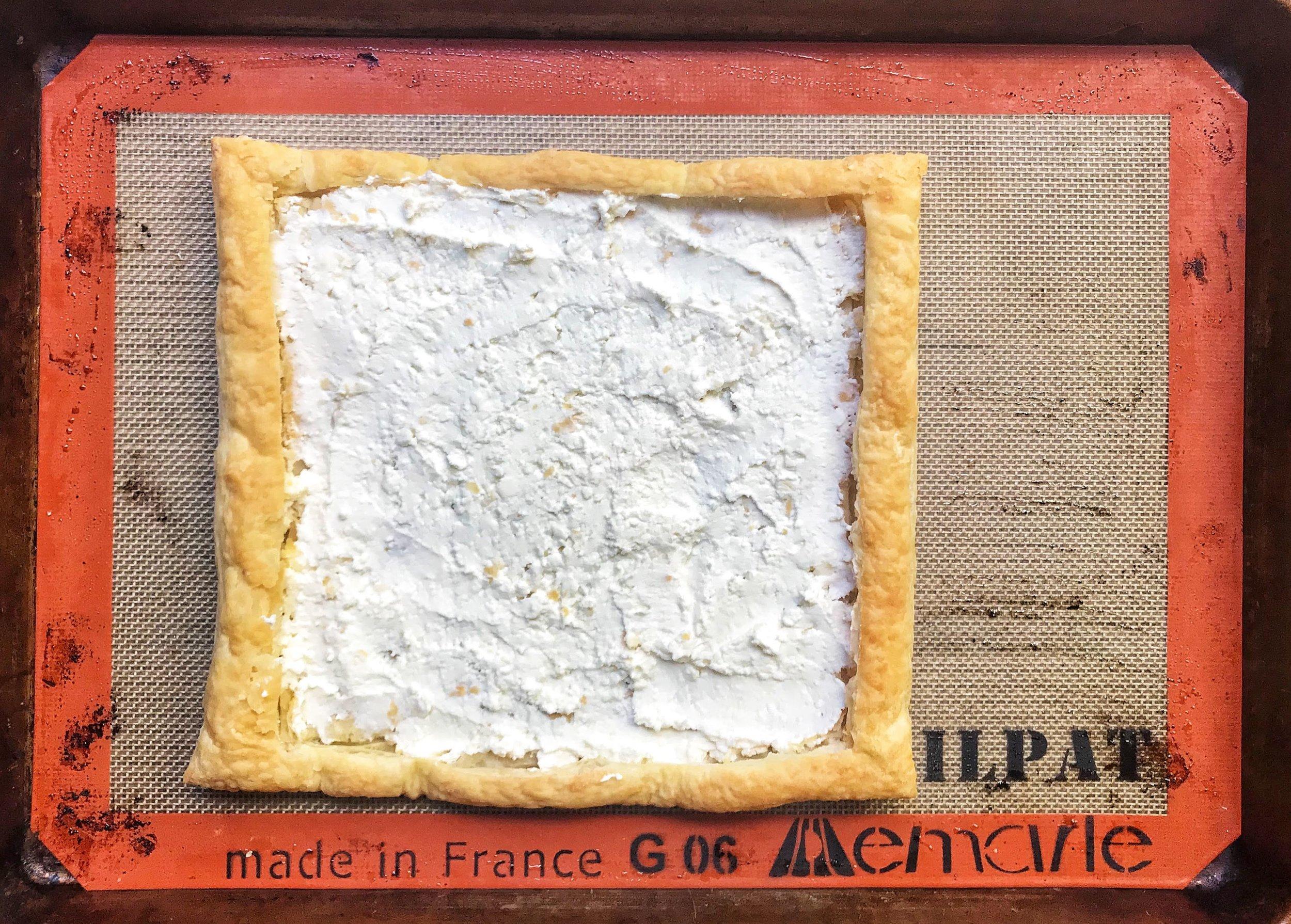Cheesy Pesto Carrot Tart