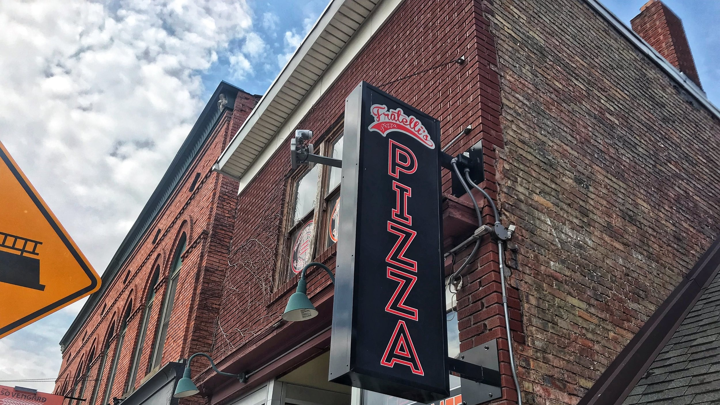Fratelli's - our pizza joint