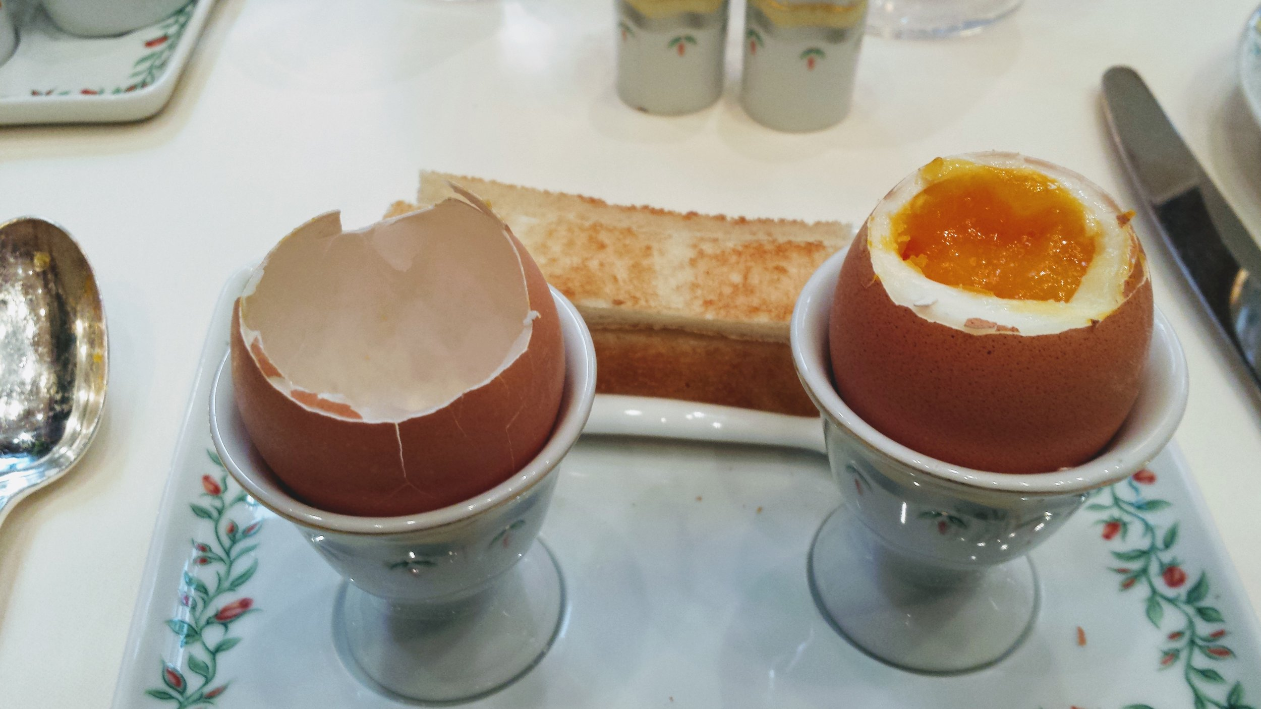 boiled eggs the way you like them - there is hardly a recipe or dish that can't be enhanced with a well cooked egg.