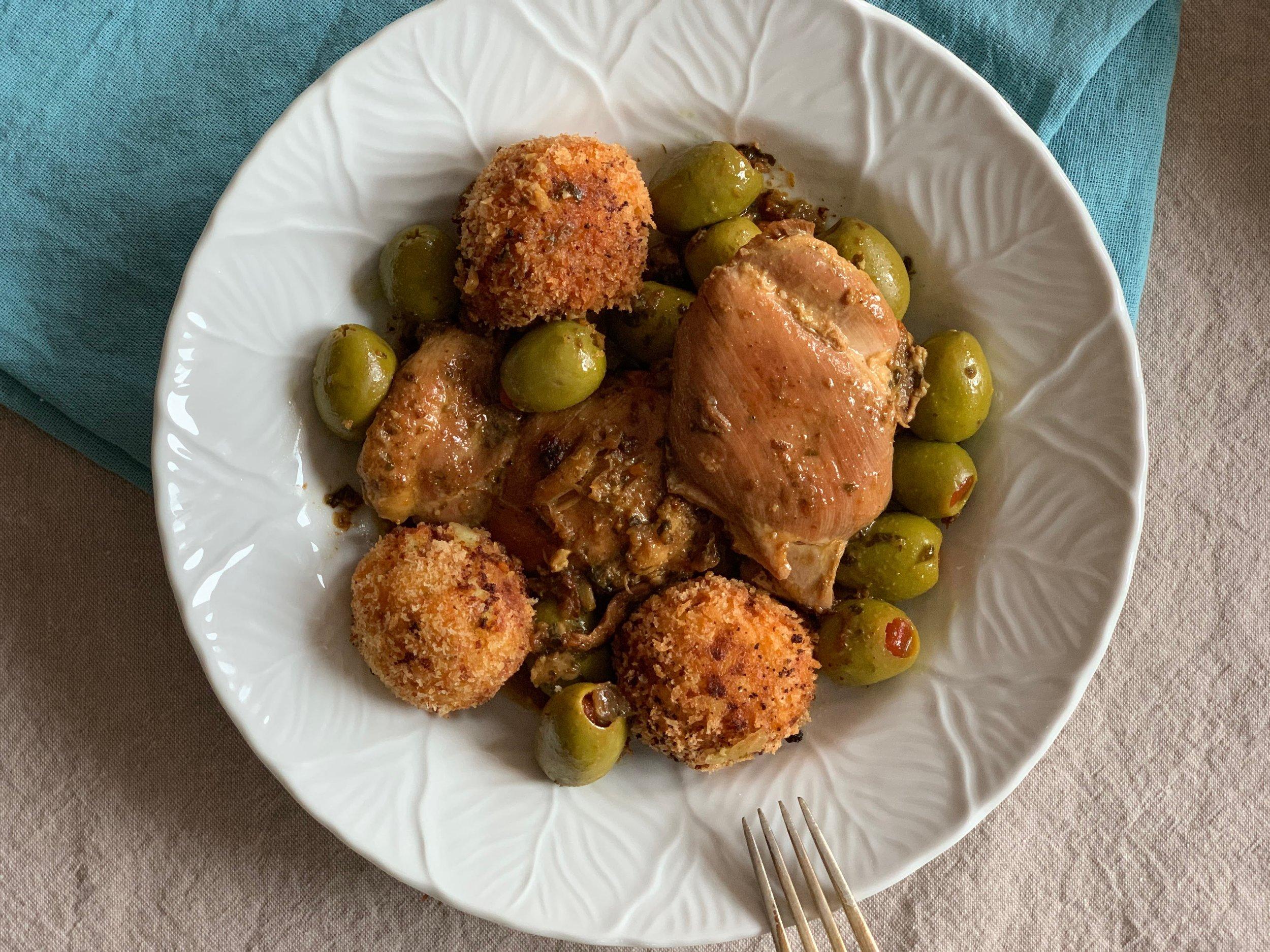 Tagine Zeytoun is an essential Algerian recipe
