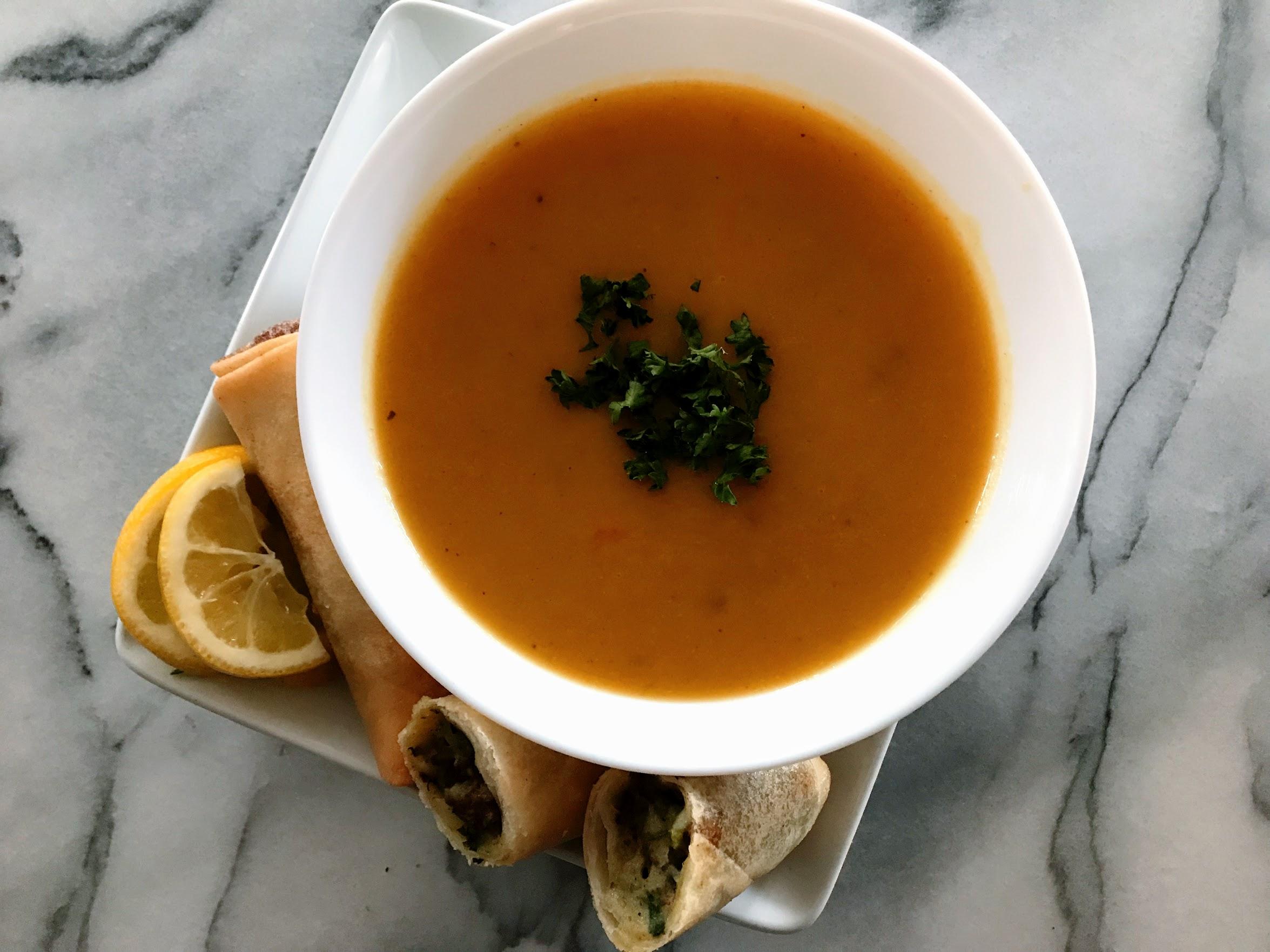 Algerian tomato and veggies soup recipe