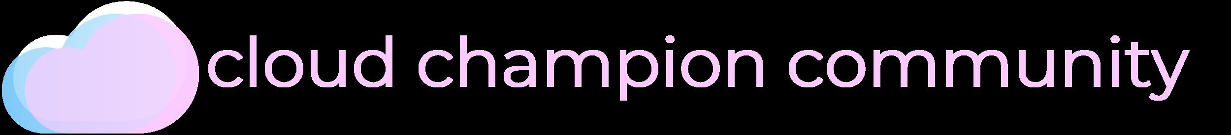 CloudChampionLogo