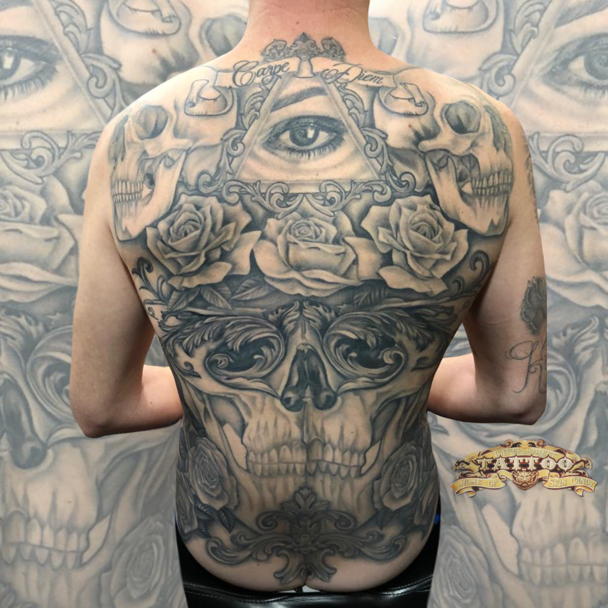 Back piece by Hollie Shannon