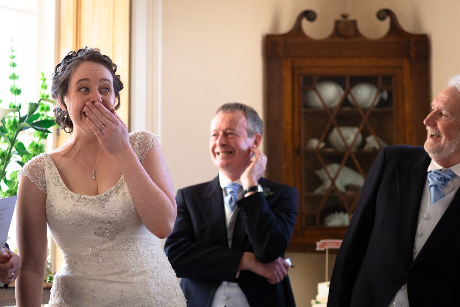 Wedding speeches at Crudwell Rectory