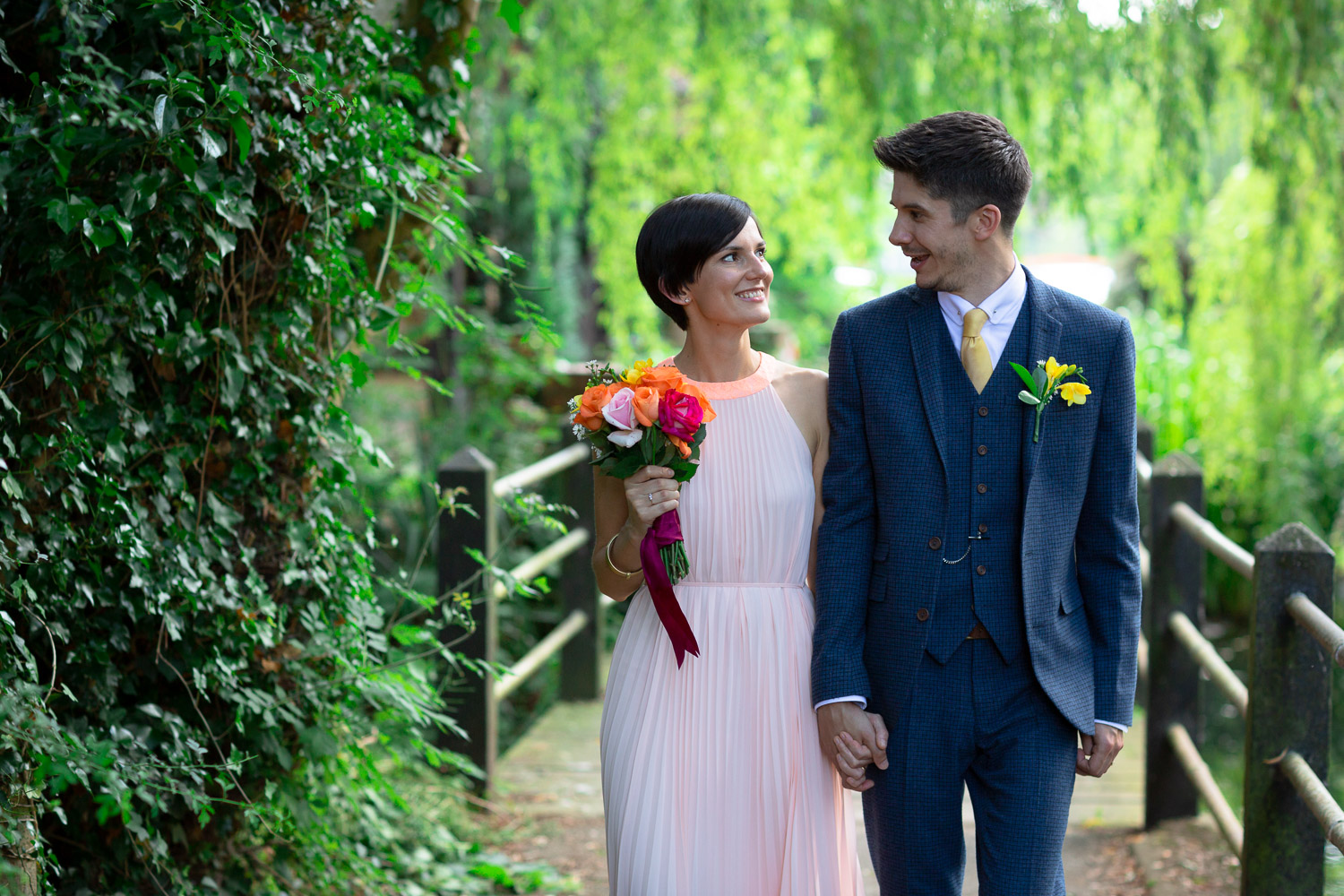Wedding emotions love bride and groom natural portraits