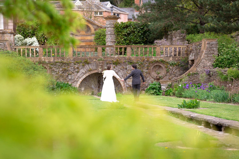 Somerset wedding photography Hestercombe House bride and groom portraits