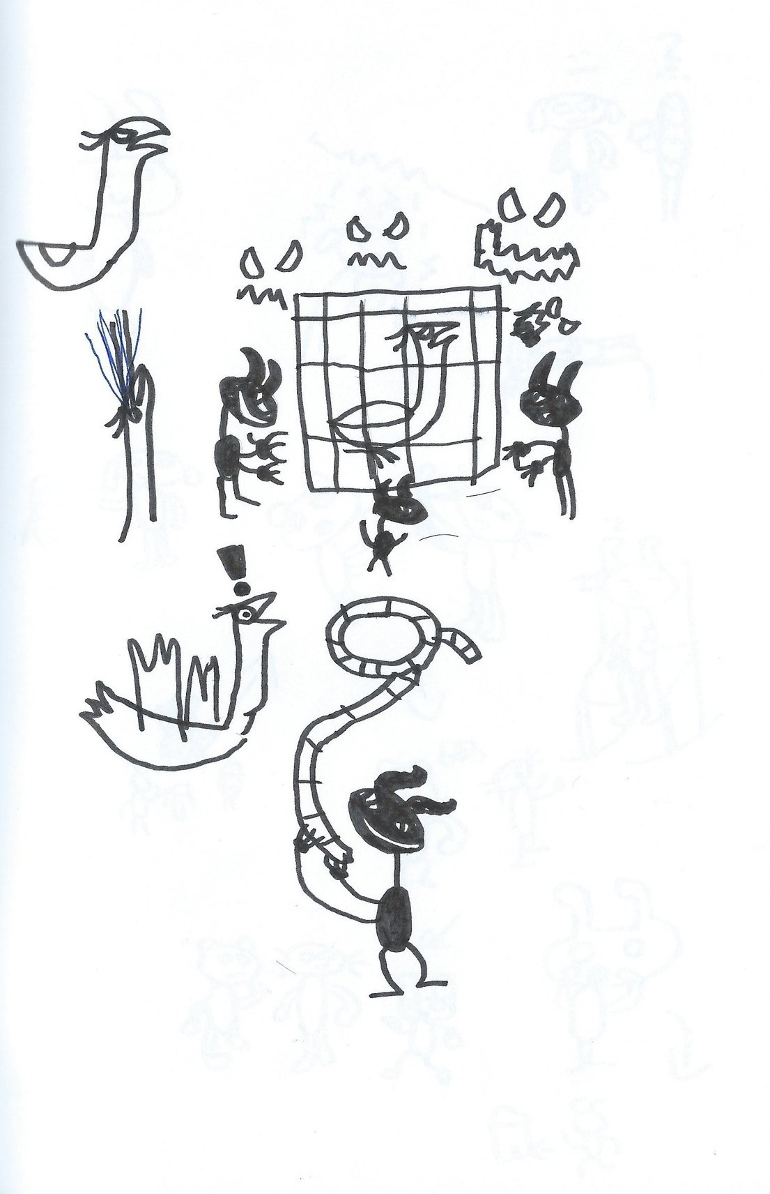 Magical-Bird+3-Evils.JPG