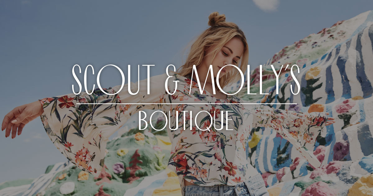 Scout & Molly's Boutique - Worked with this nationwide boutique fashion retailer on content strategy, social media marketing, e-commerce, business strategy, and a variety of other marketing initiatives for this up-and-coming boutique fashion brand.