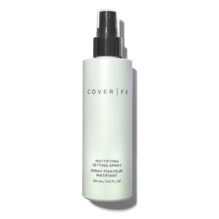 Cover FX Mattifying Setting Spray   BUY THIS LOOK - CLICK HERE