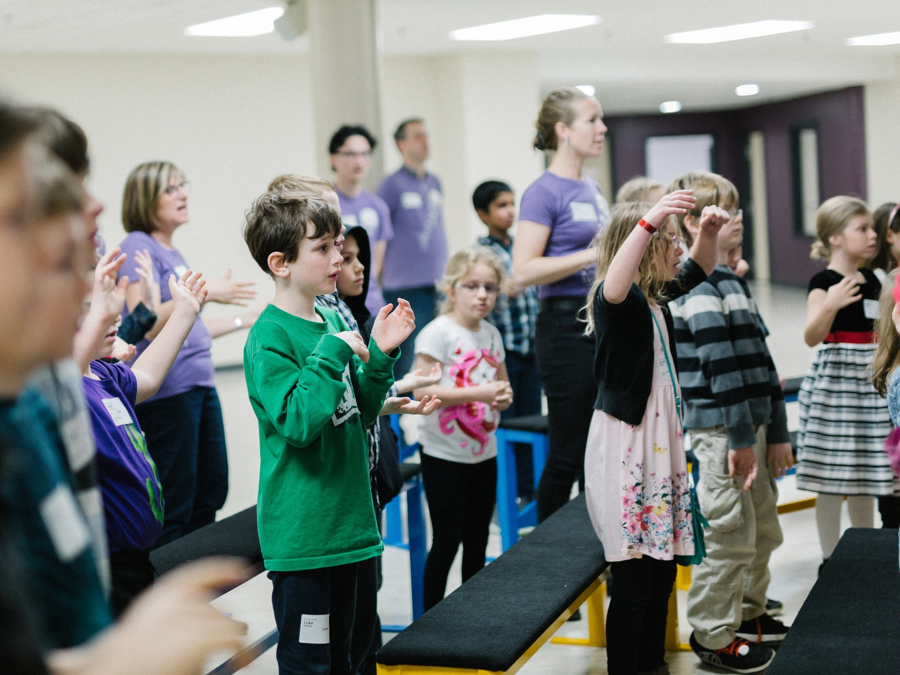 Kids Ministry - Programs and care for babies, toddlers and kids up to Grade 5