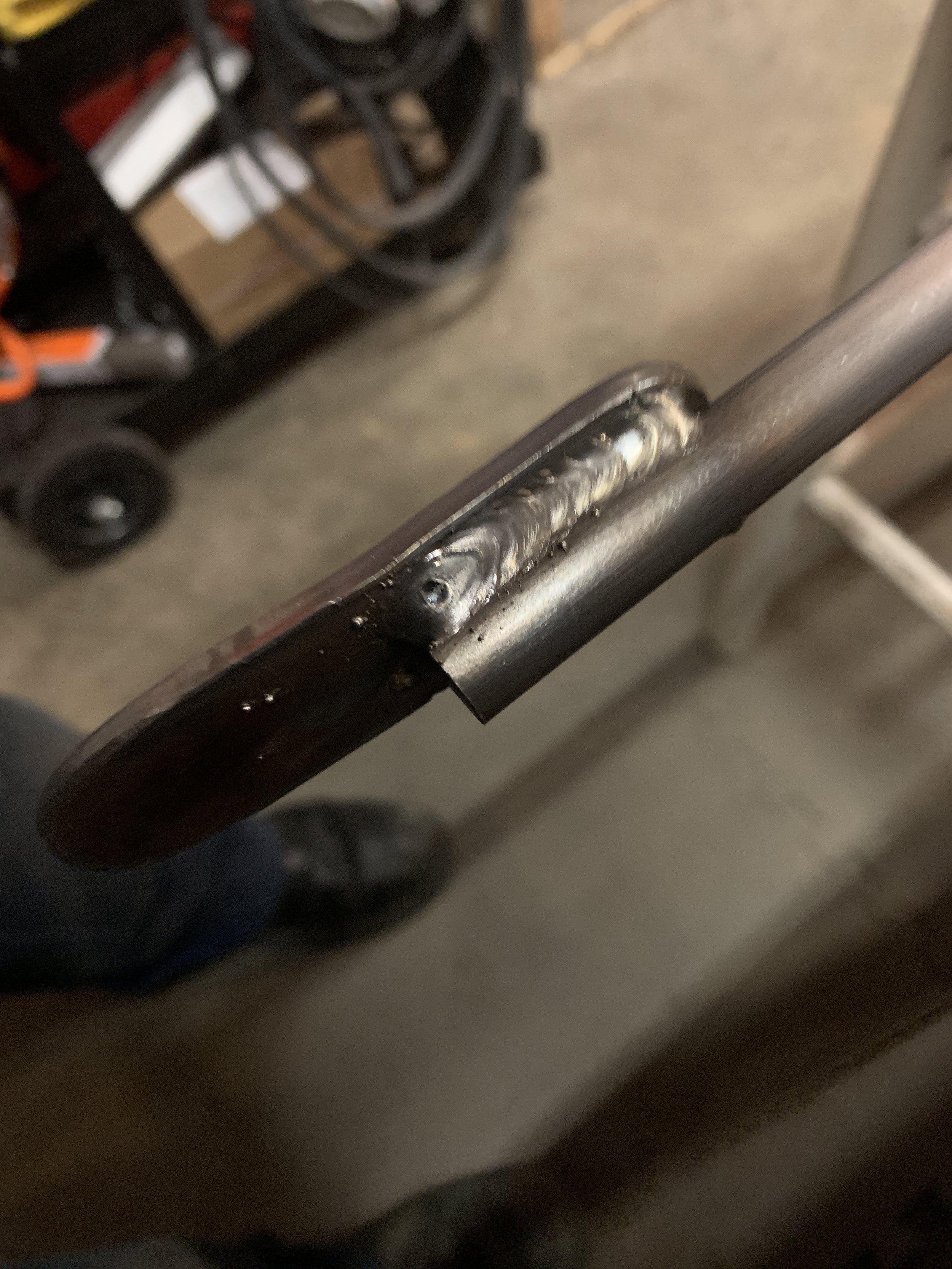 Hard tail welds