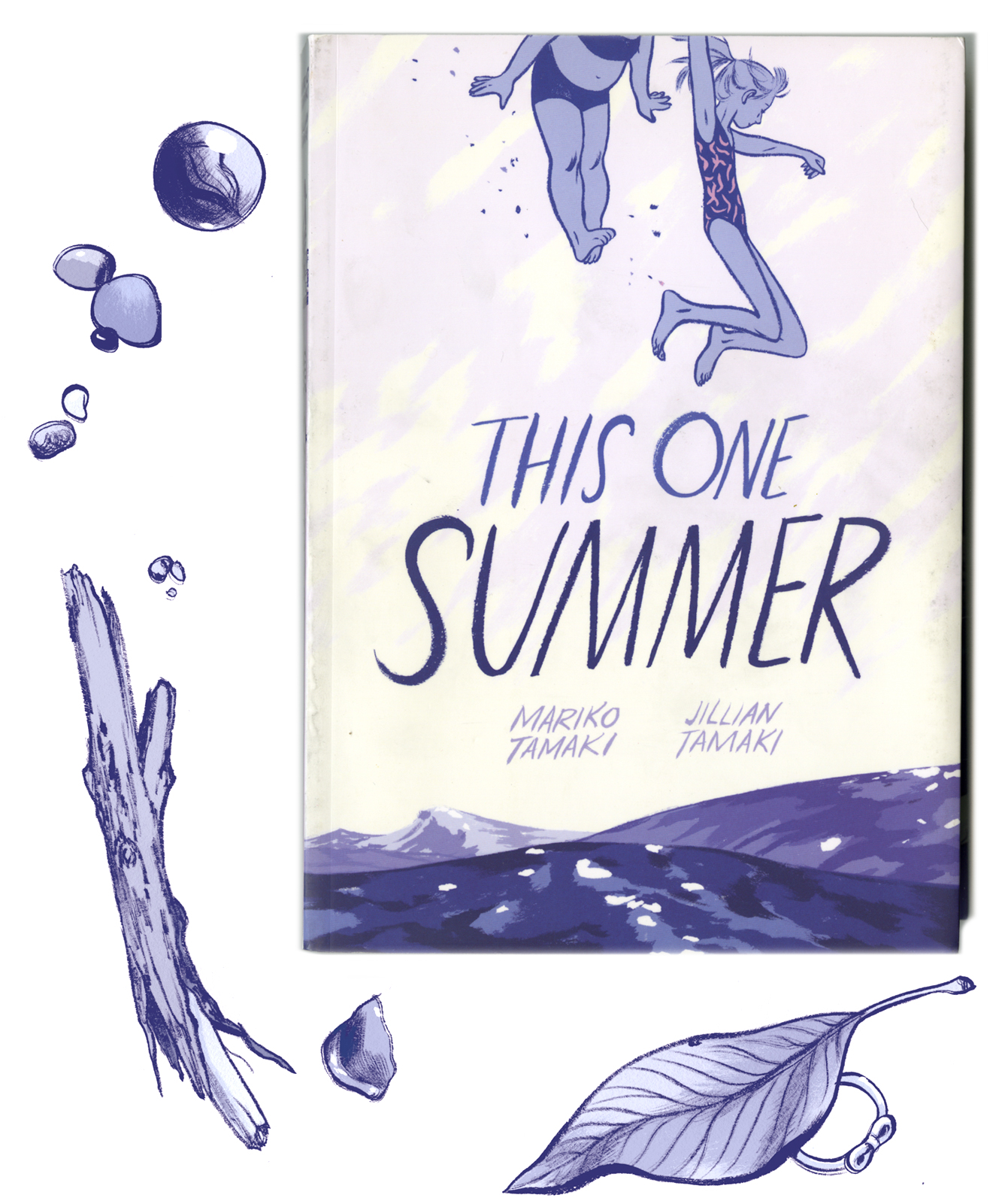 """This One Summer - First Second (US), Groundwood Books (CAN), 2014co-created with Mariko Tamaki320 pages, Ages 13+Rose and Windy are summer friends whose families have visited Awago Beach for as long as they can remember. But this year is different, and they soon find themselves tangled in teen love and family crisis. From the creators of Skim comes an investigation into the mysterious world of adults.Sure, Rose's dad is still making cheesy and embarrassing jokes, but her mother is acting like she doesn't even want to be there. Plus, being at the cottage isn't just about going to the beach anymore. Now Rose and Windy are spend a lot of their time renting scary movies and spying on the teenagers who work at the corner store, as well as learning stuff about sex no one mentioned in health class.Pretty soon everything is messed up. Rose's father leaves the cottage and returns to the city, and her mother becomes more and more withdrawn. While her family is falling to pieces, Rose focuses her attention on Dunc, a teenager working at the local corner store. When Jenny, Dunc's girlfriend, claims to be pregnant, the girls realize that the teenagers are keeping just as many secrets as the adults in their lives.""""This One Summer is a graphic novel for readers who appreciate the form, as well as for fans of traditionally told coming-of-age stories. If I worked at a bookstore, I'd be hand-selling it to customers who adored Raina Telgemeier's graphic memoir """"Smile"""" but are now ready for more complex themes. Eagerly hand-selling it: This is a lovely book."""" –The New York Times Book Review"""