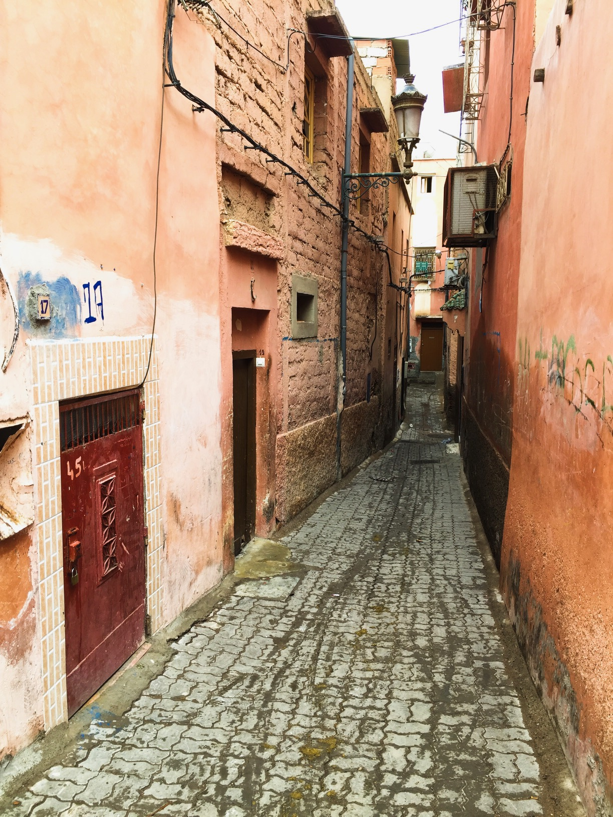 The streets of Marrakech are perfect for exploring. Passion and Peace guide to the souks of Marrakech #travel #travelguide #Morocco