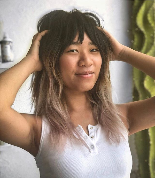 We wish everyday was #SHAGTURDAY (cause it's almost Saturday) 😝 cut & style by Maddie @made_bymads . . . . #rvasalon #shaghaircut #70shair #btc #layeredhaircut #rvahairstylist #hairinspo #hairbrained #shaggyhair #rva #rvahair #modernsalon #americansalon #beautylaunchpad
