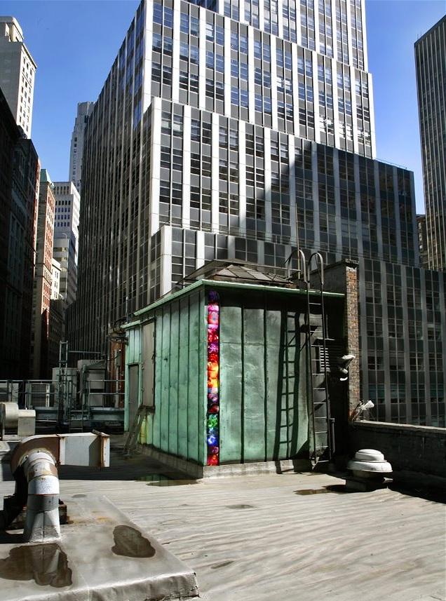 16 Beaver Street (column), Financial District, Manhattan, inkjet photographs, 2007