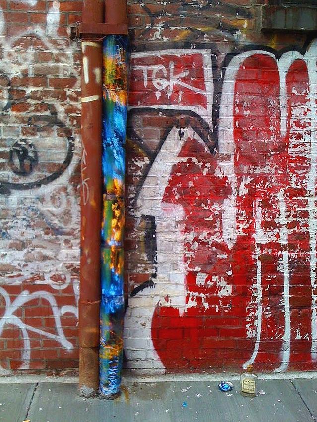 Extra Place, NoHo, Manhattan, inkjet photographs, 2010