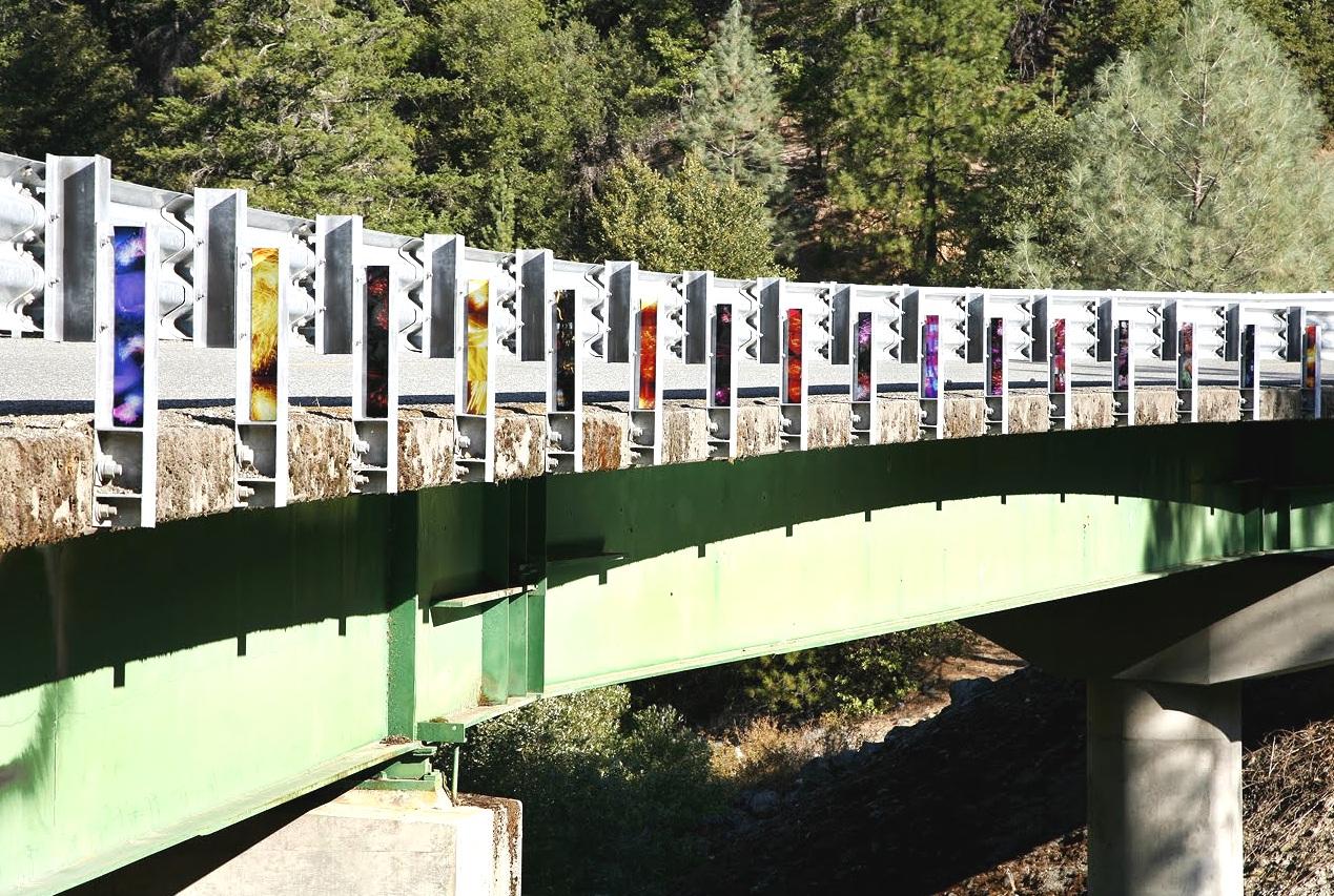 China Camp, California (bridge), inkjet photographs, 2010
