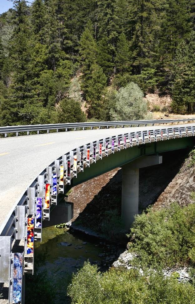 China Camp (bridge), California, inkjet photographs, 2010