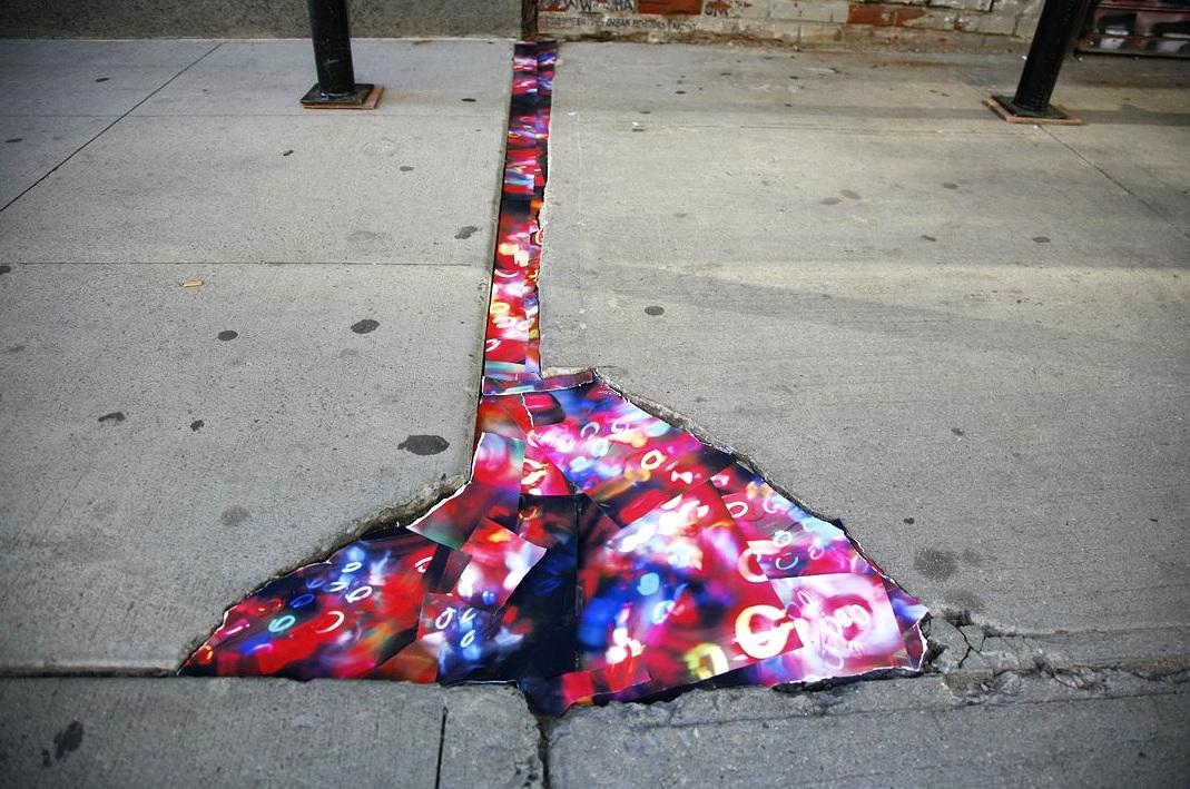 55 Bond Street, NoHo, Manhattan, inkjet photographs, 2009
