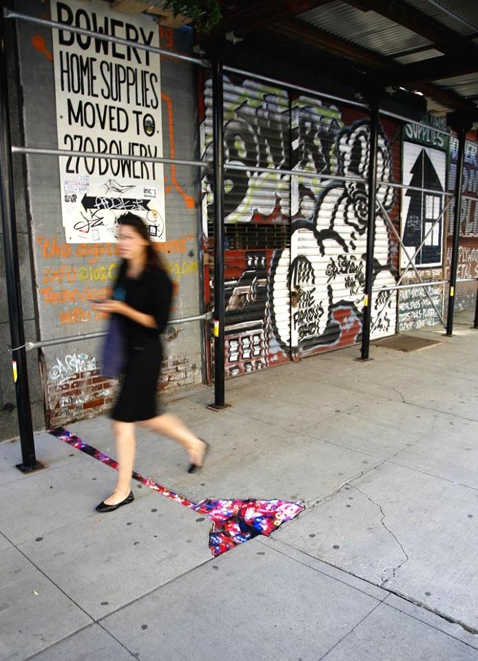 55 Bond Street, NoHo, Manhattan, inkjet photographs, 2010