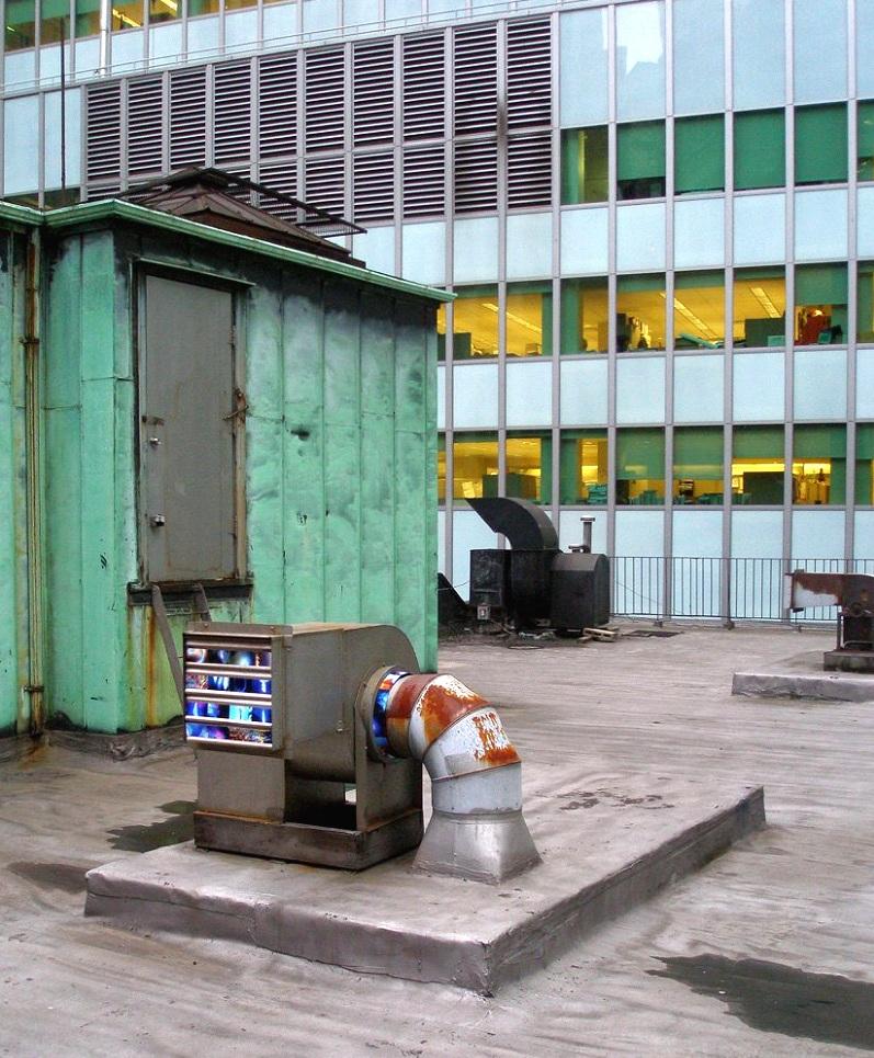 16 Beaver Street (louvered air vent), Financial District, Manhattan, inkjet photographs, 2008