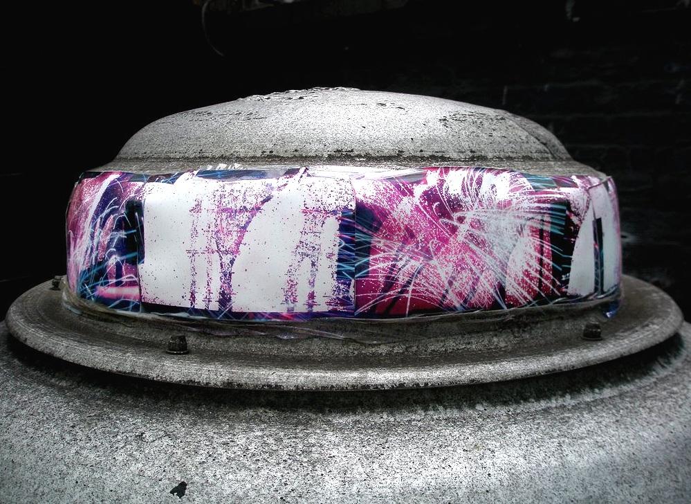16 Beaver St. (kitchen vent), Financial District, Manhattan, inkjet photographs, 2008