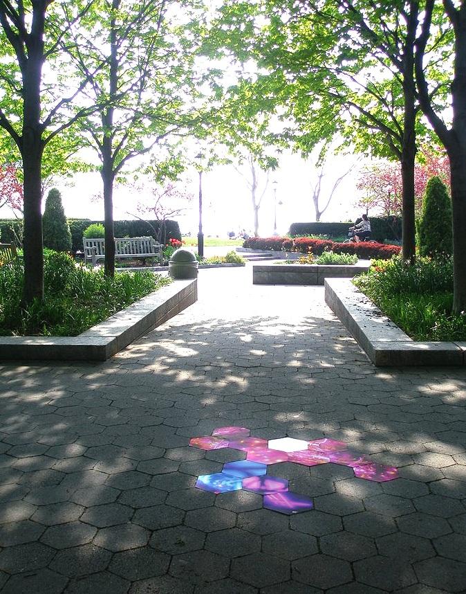 State Street, Battery Park, Manhattan, inkjet photographs, 2007