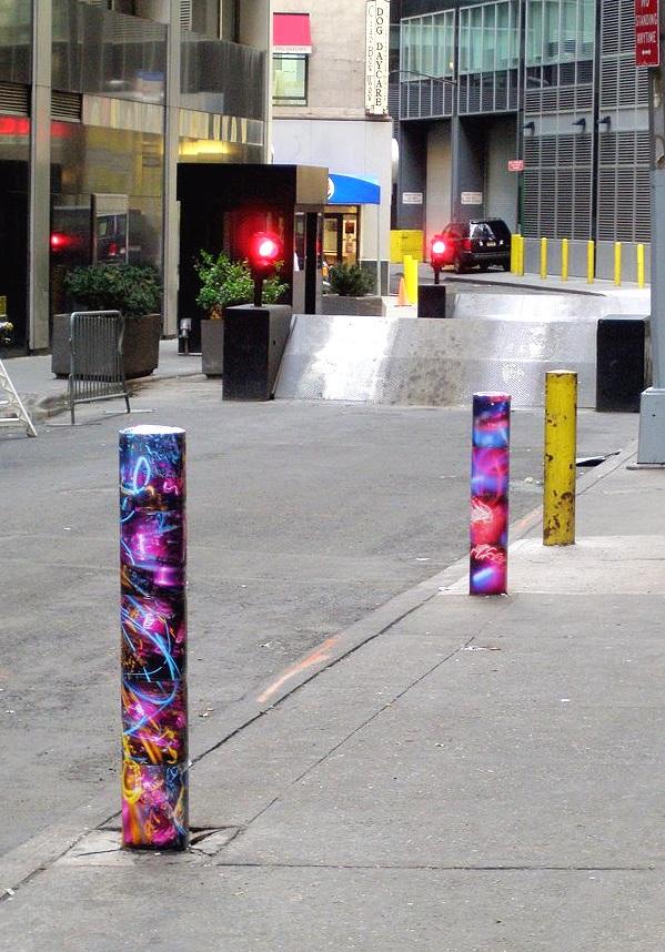 New Street, Financial District, Manhattan, inkjet photographs, 2007