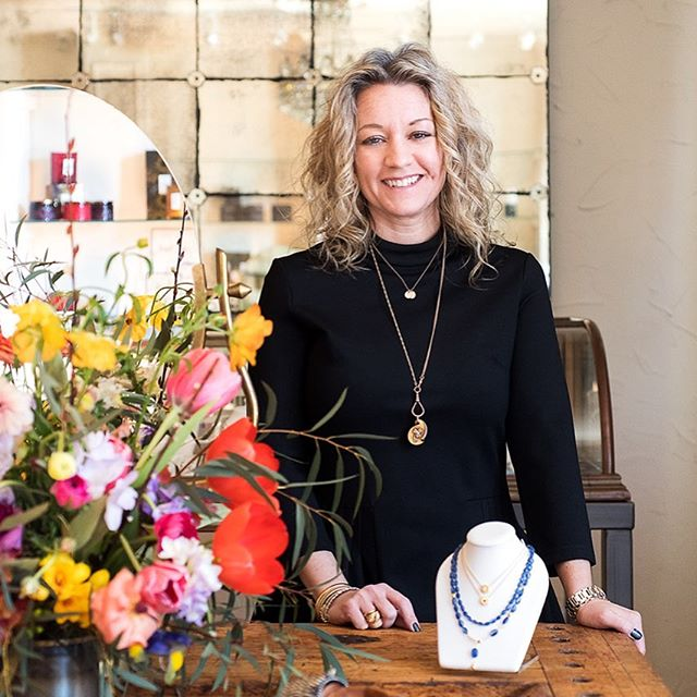 Trendsetter...Trailblazer...Entrepreneur...all of these (and more!) describe Kenneth Square jewelry designer and gallery owner Alexis Kletjian. Check out our feature on her in our current issue!  #style #jewelry #design #shoplocal #kennettsquare #summerstyle #philadelphia #philly #musthavejewelry