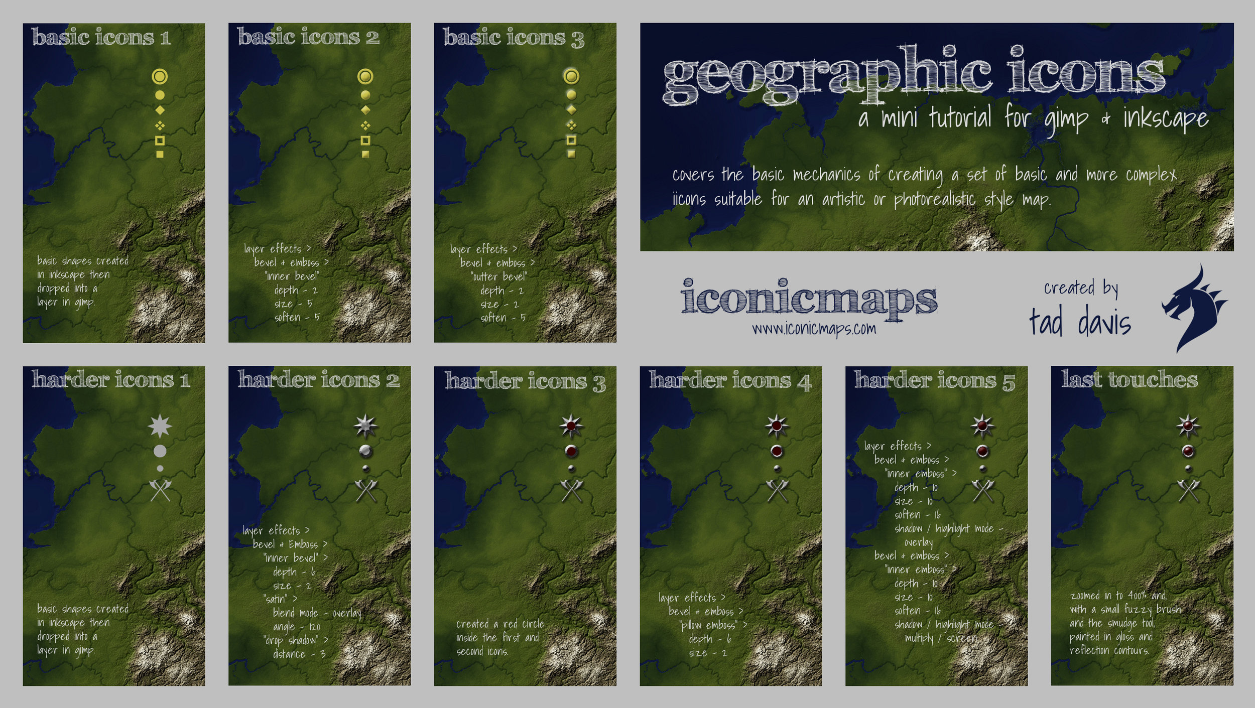 Geographic Icons Tutorial
