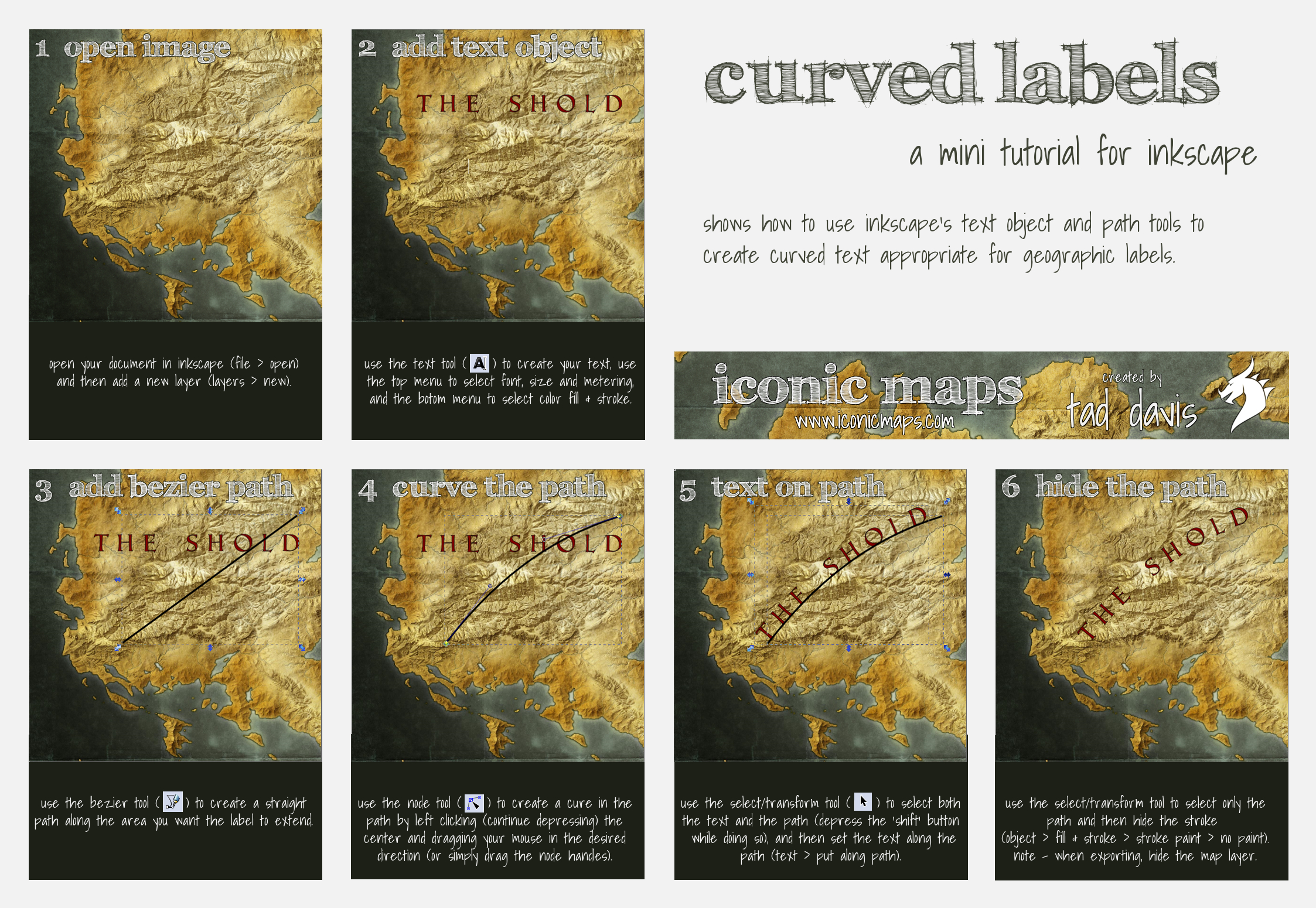 Curved Labels Tutorial