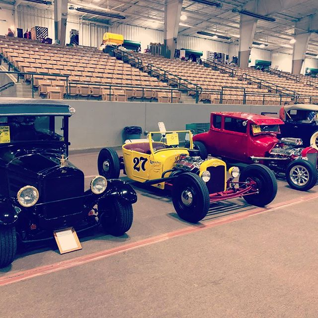 Indoor carshow in Franklin, TN. #27fordroadster #27ford