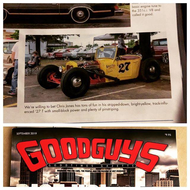 #goodguysmagazine #goodguyscarshow #goodguysnashville my 27 Model T