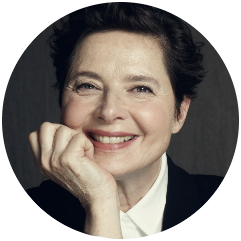 Isabella Rossellini runs an organic farm in Brookhaven, NY in association with the Peconic Land Trust. Her book about raising heritage chickens entitled  My Chickens and I  is published in the USA by ABRAMS Books.  Ms. Rossellini grew up in Paris and Rome. When she was 19, she moved to New York City, working as a translator and journalist for RAI-Italian Television. She began a modeling career at the relatively advanced age of 28, appearing on numerous covers of magazine such as  Vogue ,  Elle ,  Harper's Bazaar,  and  Vanity Fair.   An enduring style icon, she began a 14-year run in 1982 as the exclusive spokesperson for Lancome. When she turned 40 years old, an age considered too advanced to represent beauty industry, her contract was not renewed. Isabella launched her own cosmetics brand Manifesto but in 2016 Lancome hired her again as a spokesperson with the specific intent to promote inclusiveness and fight against ageism.  Ms. Rossellini made her cinematic debut as an actress in 1979 in the Taviani brothers' film  Il Prato  (The Meadow) and has appeared in numerous other films, including the American features  Blue Velvet ,  White Nights ,  Rodger Dodger ,  Cousins ,  Death Becomes Her ,  Fearless, Big Night  and more recently in  Joy.  She has worked with directors including Robert Zemeckis, David O. Russell, David Lynch, Robert Wilson, Taylor Hackford, Marjane Satrapi, and Guy Maddin.  She is also a successful television actress and filmmaker, with a keen interest in animals and wildlife conservation. Her award-winning series of shorts , Green Porno ,  Seduce Me,  and  Mammas  offers comical and scientifically insightful studies of animal behaviors. She toured in 50 different cities with a monologue based on her shorts written with Academy Award winner Jean Claude Carriere. This year she is touring her new theatrical show,  Link Link Circus,  that deals with animal behavior and cognition.  Isabella is completing her master's degree on Animal Behavior and Con