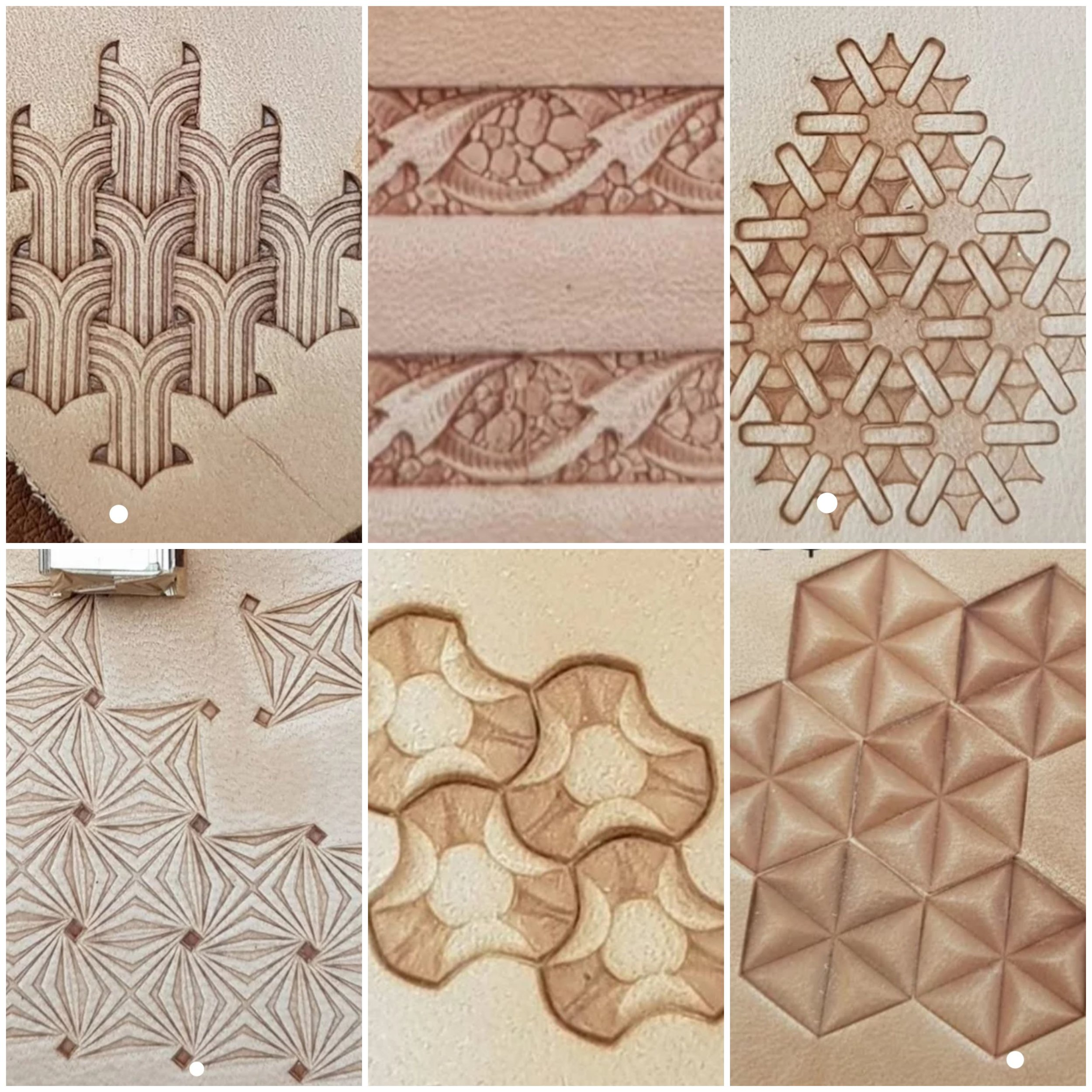 Stamp Batch 2 - Please quote batch number with stamp number.1. Intertwined Waterfalls2. Dragon Tails3. Intertwined Loops4. Twilight Zone Stars5. Flower Petals6. Concave Stars