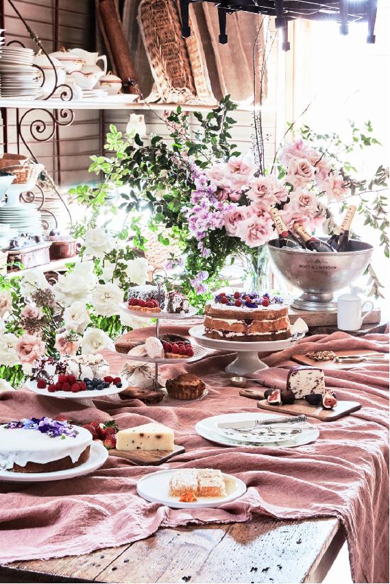 Food Styling by Kerrie-Ann Jones Interior Stylist Sydney & Melbourne.  Style Editor, Freelance Stylist.  Content Creator Sydney.  Food Stylist & Flatlay Stylist.  #foodstyling #tableinspiration #desserttable