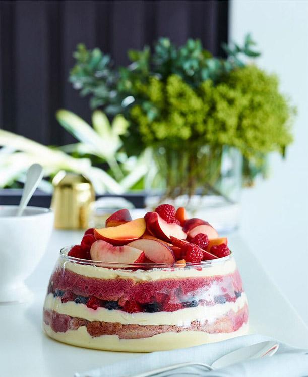 Food Styling by Kerrie-Ann Jones Interior Stylist Sydney & Melbourne.  Style Editor, Freelance Stylist.  Content Creator Sydney.  Food Stylist & Flatlay Stylist.  #foodstyling #tableinspiration #trifle