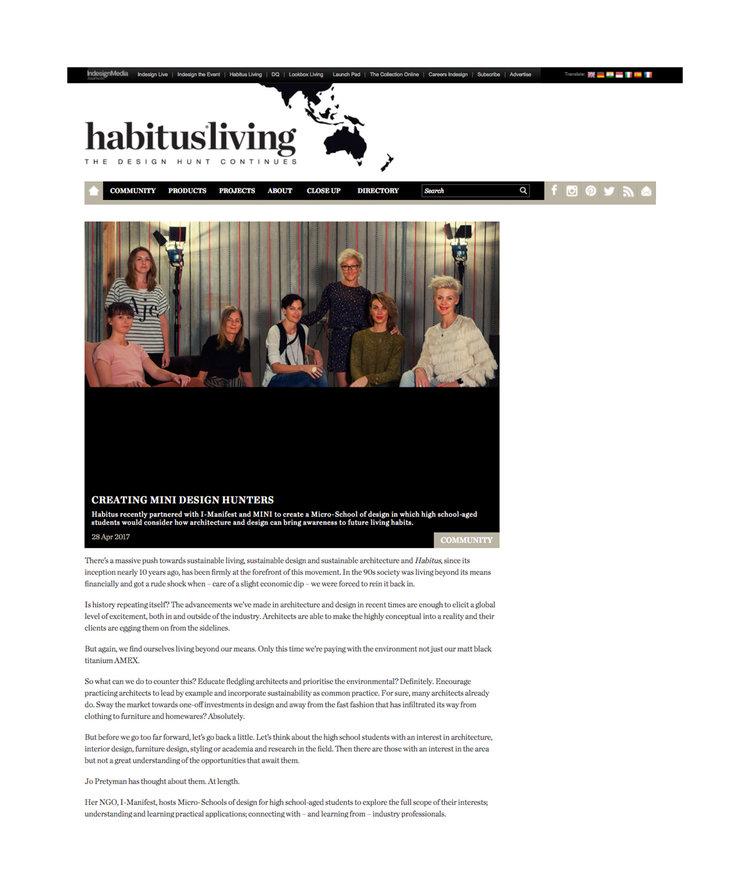Habitus Living - Creating Mini Design Hunters