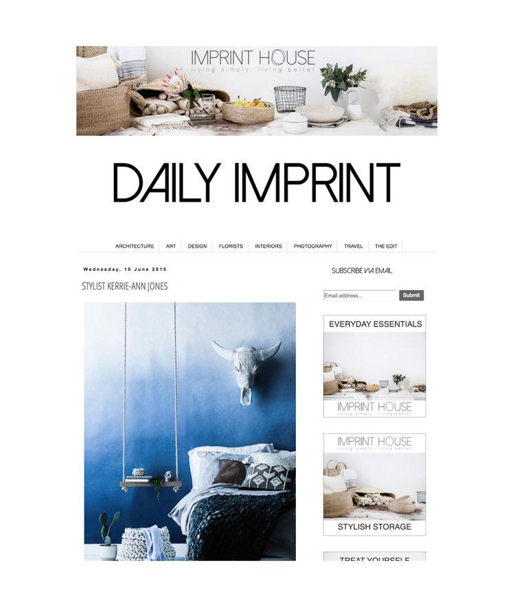 Daily Imprint - Stylist Kerrie-Ann Jones
