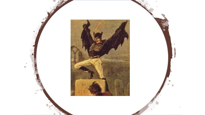 Spring-Heeled Jack - Definitely a creepy looking character from Victorian London