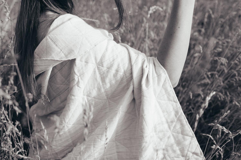 Kimono Shawl —  Natural