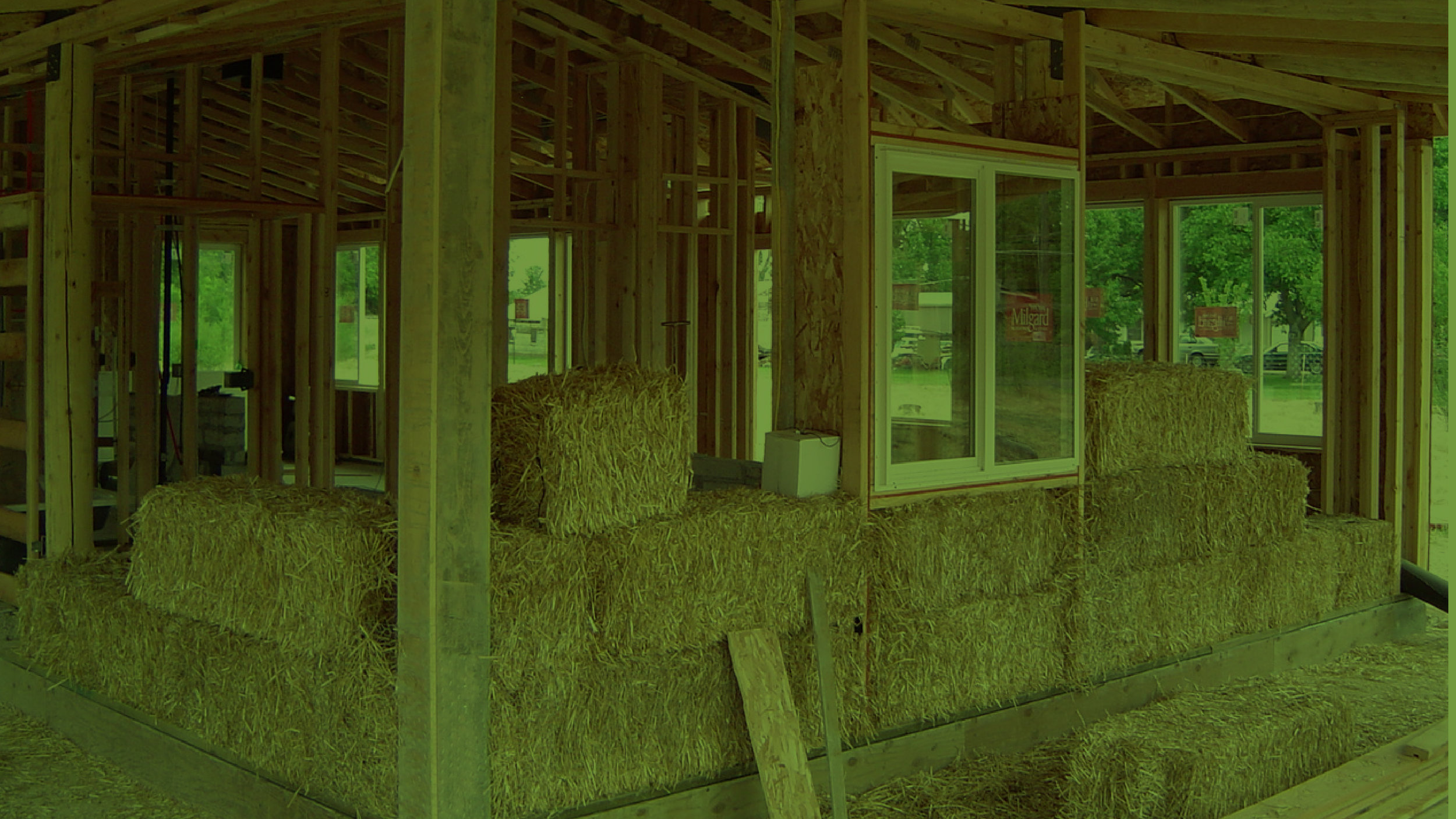 Host a Straw Bale Building Workshop - Cut costs in your new home project