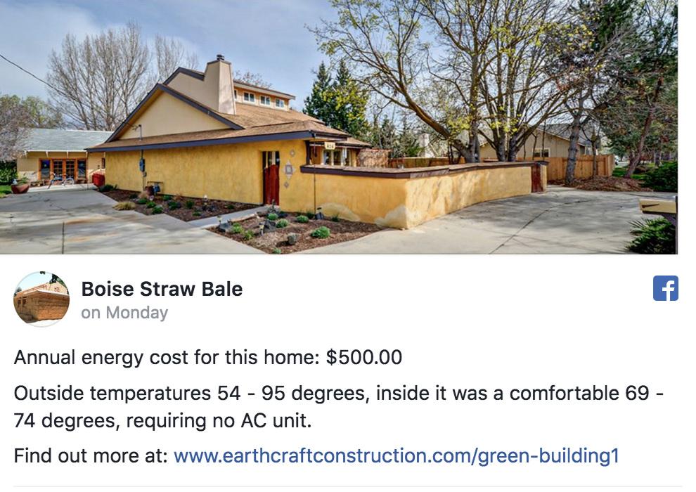 Boise Straw Bale