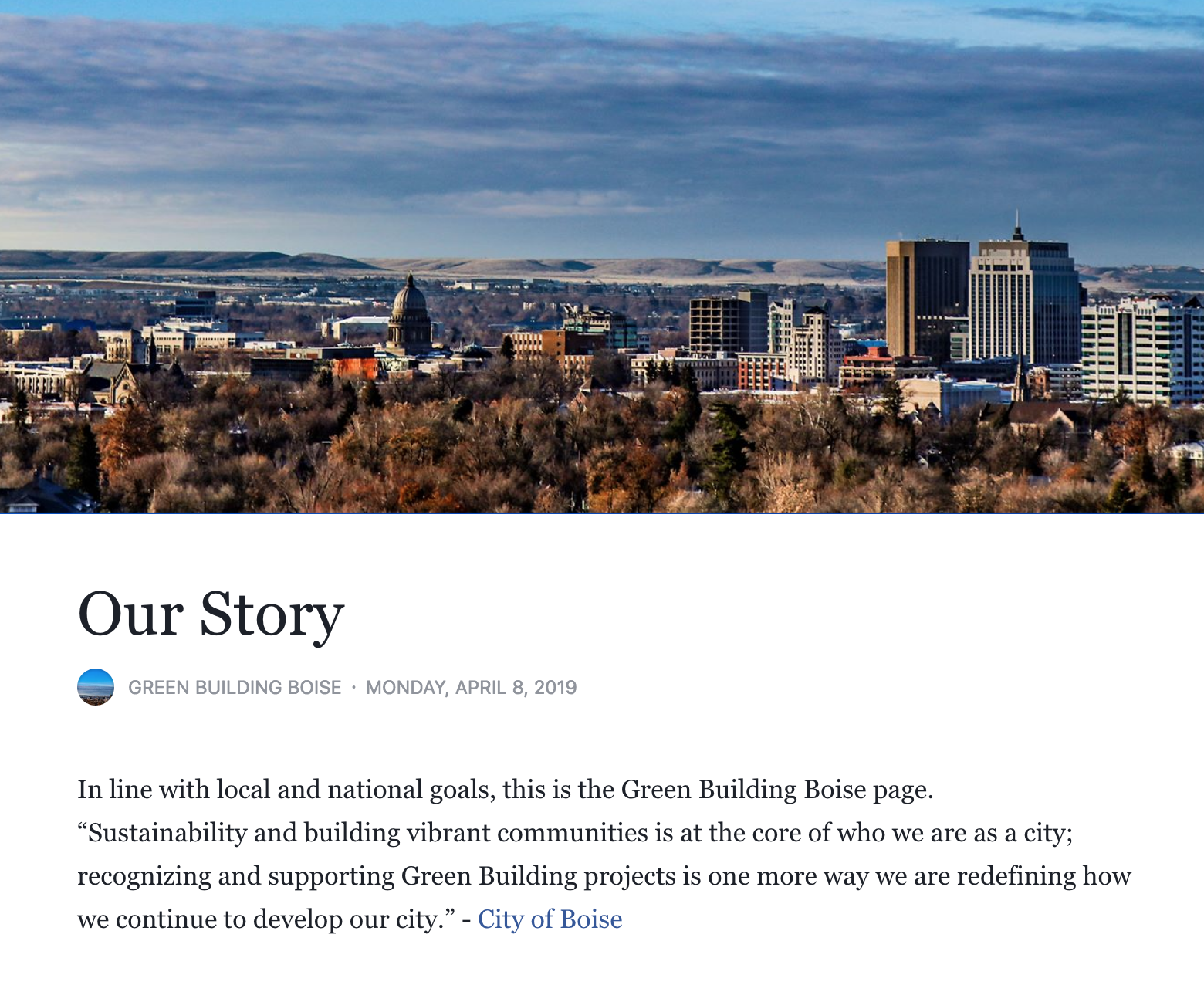 Green Building Boise